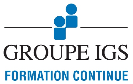 Logo Groupe IGS Formation Continue