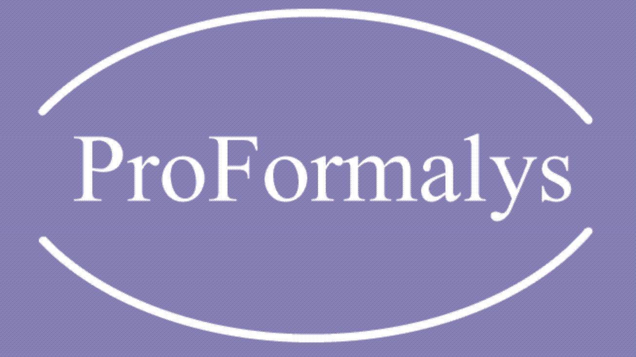 Logo ProFormalys