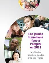Les jeunes franciliens face à l'emploi en 2011