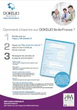 Comment s'inscrire sur DOKELIO Ile-de-France ?
