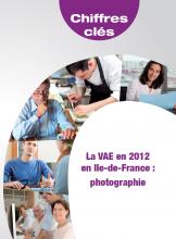 Les chiffres clés de la VAE en  2012 en Ile-de-France