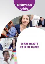 La VAE en 2013 en Ile-de-France