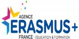Logo de l'Agence Eramus+ France