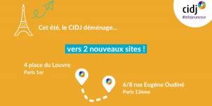 Rentrée du CIDJ : tous les services accessibles sans rendez-vous au 4 place du Louvre