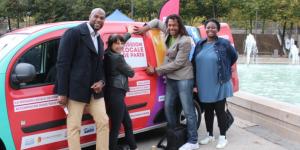 Mission locale de Paris : un véhicule électrique modulable pour aller vers les jeunes