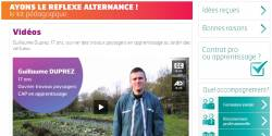 Sur le site de l'Agefiph, un kit pédagogique pour inciter à choisir l'alternance