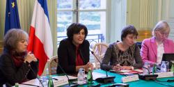 Myriam El Khomri, lors de la première plénière du CPA, le 14 novembre 2016