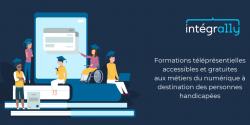 Intégra11y, première formation inclusive au métier d'intégrateur web