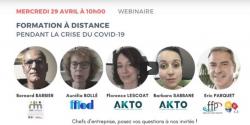 La formation à distance pendant la crise du Covid-19