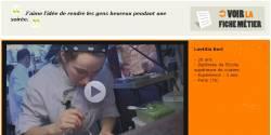Une vidéo lesmetiers.net primée au festival « Métiers à l'affiche » de Nantes !