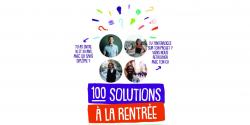 Forum 100 solutions à la rentrée
