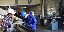Se former aux métiers de l'industrie et de la métallurgie